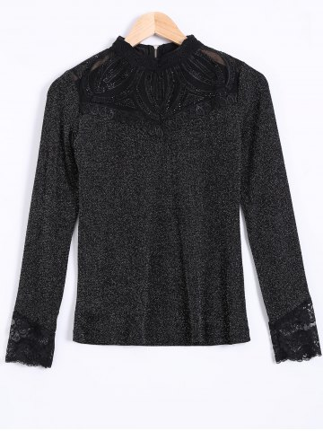 Shops Voile See Through Slimming Blouse