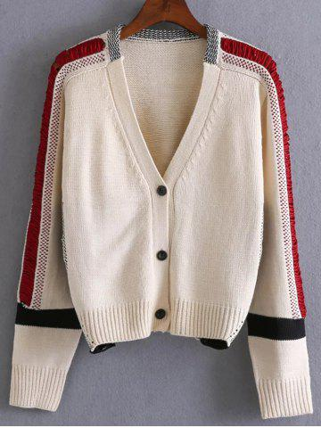Shops Colorblock Single Breasted Cardigan