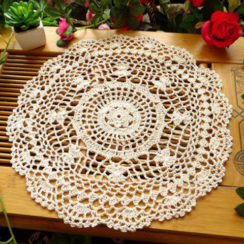 Sale Handmade Floral Crochet Round Table Placemat