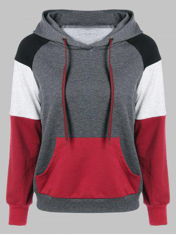 Sale Raglan Sleeve One Pocket Hoodie