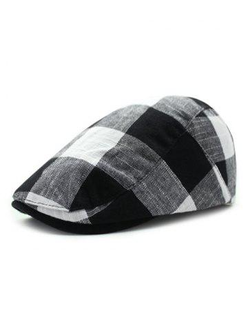 Latest Casual British Tartan Ivy Hat