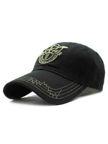 Buy Casual Shield Embroidery Baseball Hat