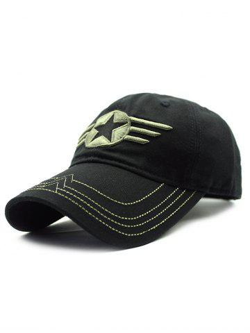 Latest Casual Star Badge Embroidery Baseball Hat