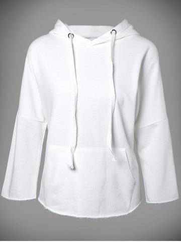 Chic Hooded Long Sleeve Big Pocket Hoodie