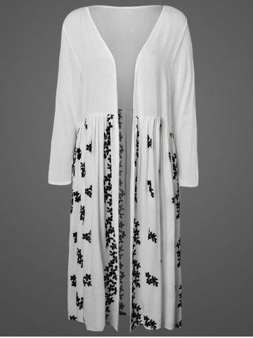 Outfits Embroidered Long Cover-Up Blouse
