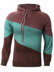 Color Splicing Hoodie