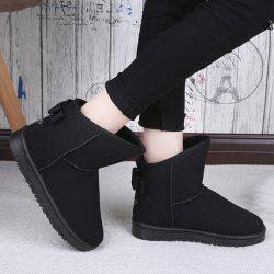 Bow Slip On Snow Boots -
