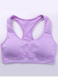 Padded Space-Dyed Racerback Bra -
