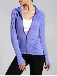 Espace Dye Zipper volant Slim Sporty Jacket -