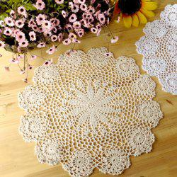Floral Table Meal Handwork Crochet Placemat -
