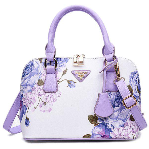 Unique Floral Printed Handbag