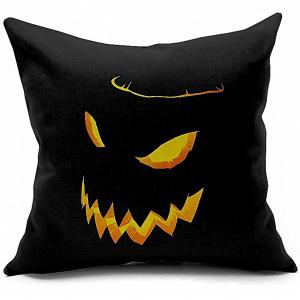 Halloween Funny Pumpkin Printed Sofa Cushion Pillow Case