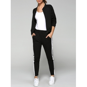 Zip Up Sweatshirt and Running Pants