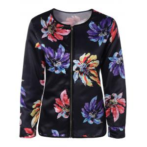 Ethnic Floral Thin Cotton Jacket