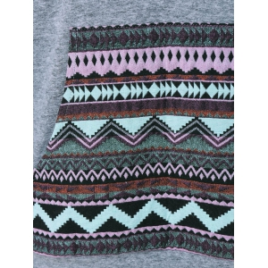 Tribal Big Pocket Hoodie -
