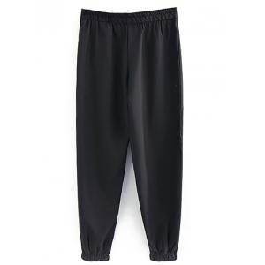 Zipped Drawstring Running Pants -