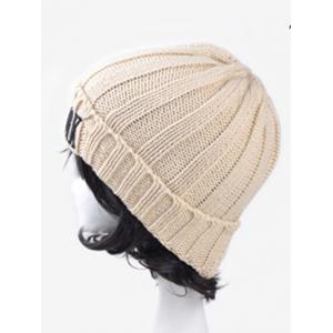 Casual Embroidery New York Knitted Hat -