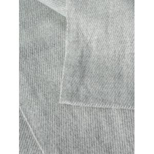 Casual Faux Cashmere Fringe Scarf - LIGHT GRAY