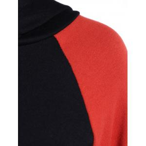 Two Tone Pullover Hoodie -