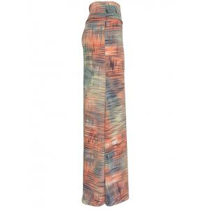 African Printed High Waisted Maxi Skirt -