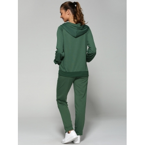 Zip Up Hoodie and Joggers Pants -