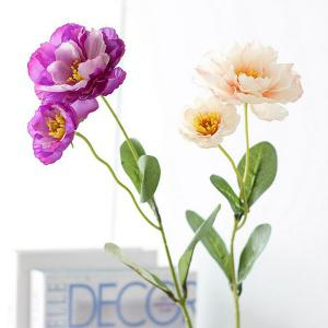 2 Heads Real Touch Home Decoration Artificial Flower -