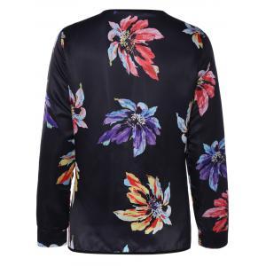 Ethnic Floral Thin Cotton Jacket -