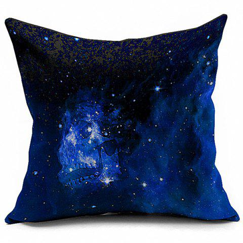 Best Abstract Milky Stars Printed Sofa Cushion Pillow Case DEEP BLUE