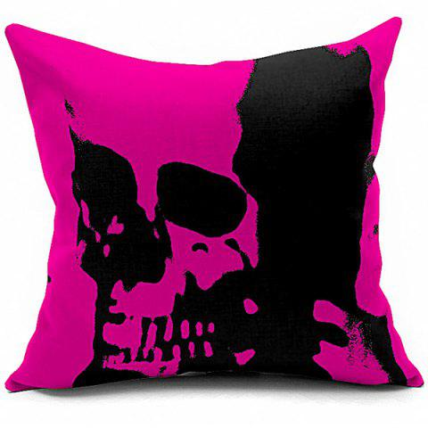 Trendy Abstract Skeleton Printed Sofa Cushion Pillow Case