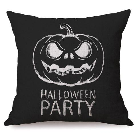 Shop Antibacteria Sofa Cushion Halloween Party Pumpkin Printed Pillow Case