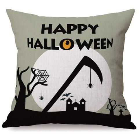 Outfit Antibacteria Happy Halloween Sofa Cushion Printed Pillow Case