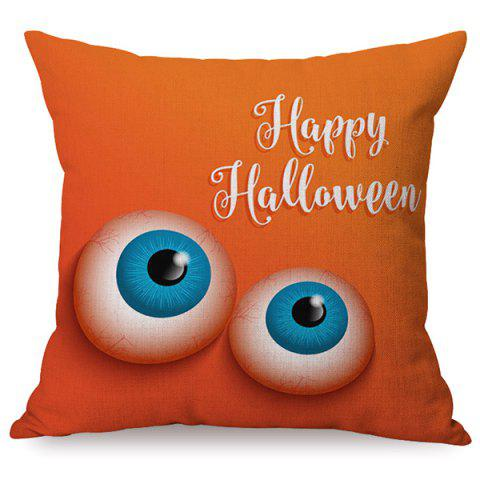 Discount Happy Halloween Sofa Cushion Eyes Printed Pillow Case