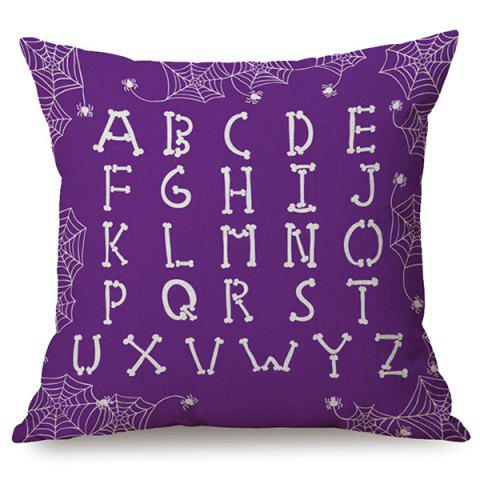 Store Halloween Letters Sofa Cushion Printed Pillow Case