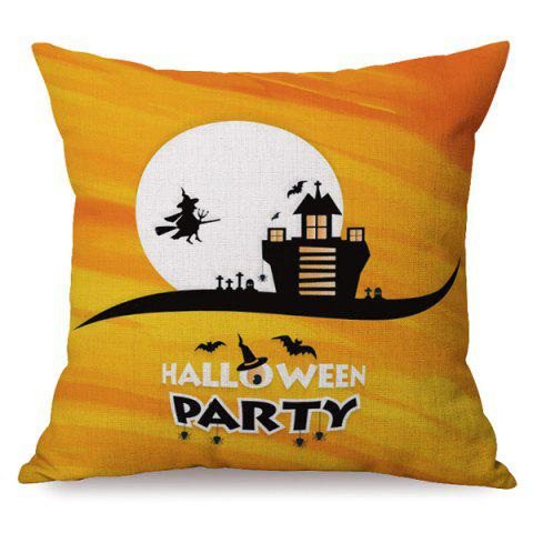 New Durable Halloween Party Sofa Cushion Printed Pillow Case