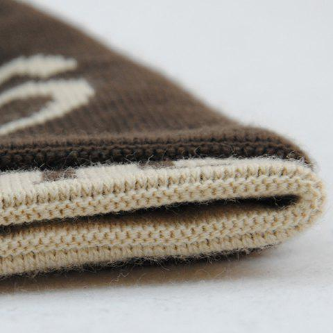 Outfit Warm Label 1986 Jamont Knit Ski Hat - COFFEE  Mobile