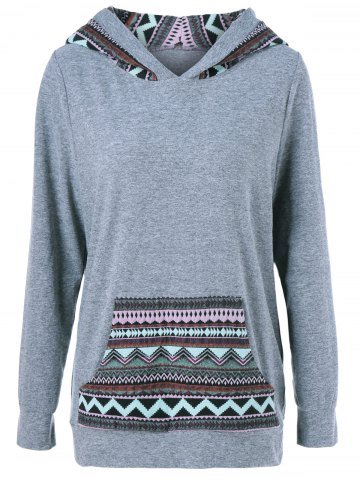 Outfits Tribal Big Pocket Hoodie