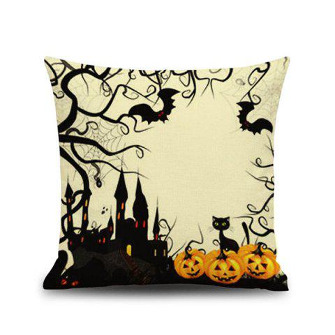 Trendy Hot Sale Halloween Car Sofa Cushion Pillow Case COLORMIX