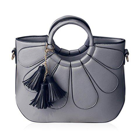 Outfit Stitching Tassels Handbag