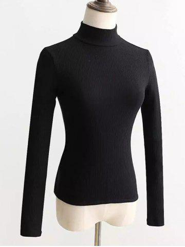 Best Ribbed Back Lace Up Knitted Pullover
