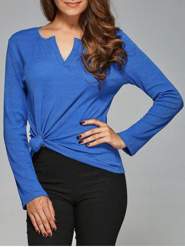 Shops V Neck Slimming T-Shirt