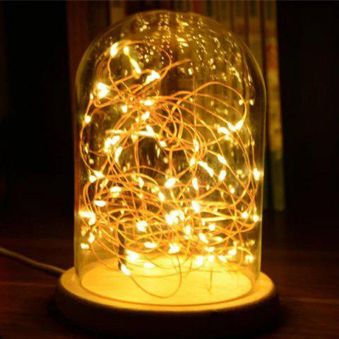 Unique Creative Novelty LED Flashing Bedroom Night Light - LIGHT YELLOW  Mobile