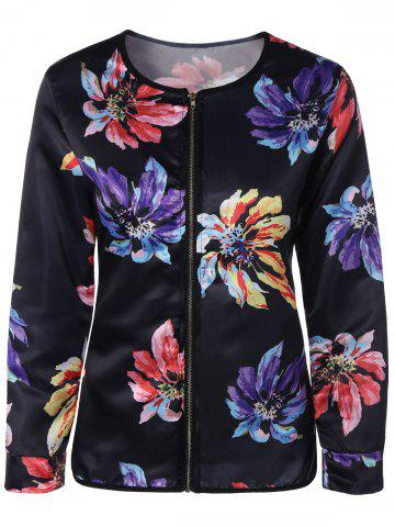 Fancy Ethnic Floral Thin Cotton Jacket