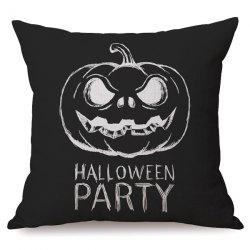 Antibacteria Sofa Cushion Halloween Party Pumpkin Printed Pillow Case -