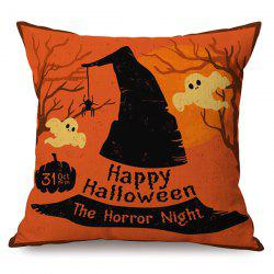 Happy Halloween Horror Night Sofa Cushion Printed Pillow Case -