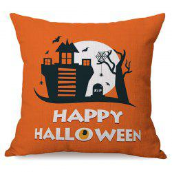 Happy Halloween Sofa Cushion Printed Pillow Case -