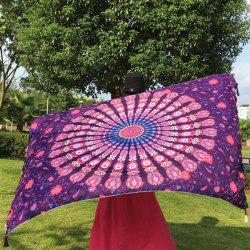 Hot Tassel Ethnic Printed Rectangle Mandala Beach Scarf