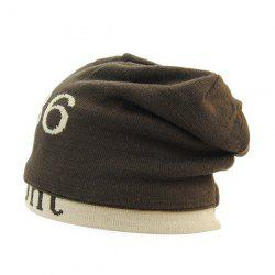 Warm Label 1986 Jamont Knit Ski Hat - COFFEE