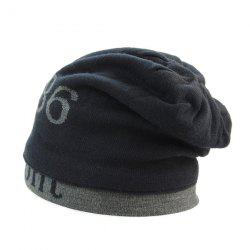 Warm Label 1986 Jamont Knit Ski Hat - PURPLISH BLUE
