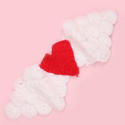 Manual Crochet Angle Wing Baby Photography Prop -
