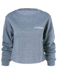 California Long Sleeve Sweatshirt - GRAY